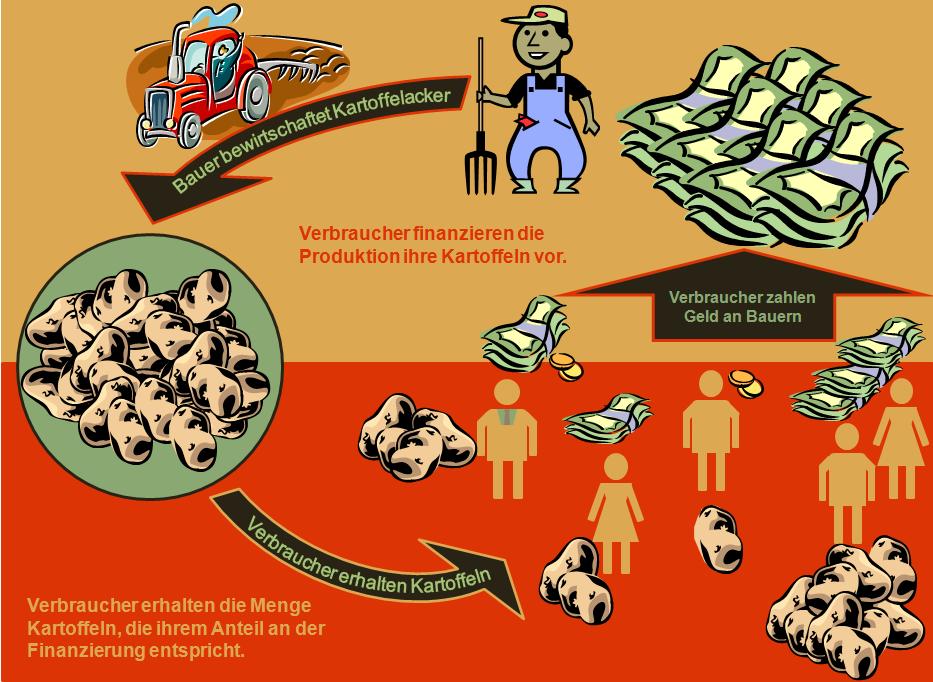 Foodfunding am Beispiel der Kartoffelproduktion